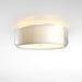 Mercer Ceiling Light - Pearl White Cotton Finish