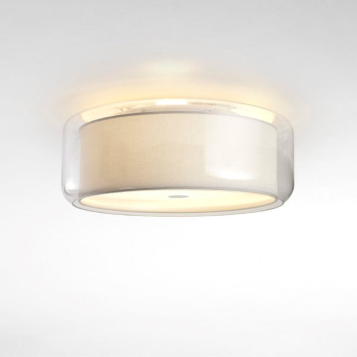 Mercer Ceiling Light - Pearl White Finish
