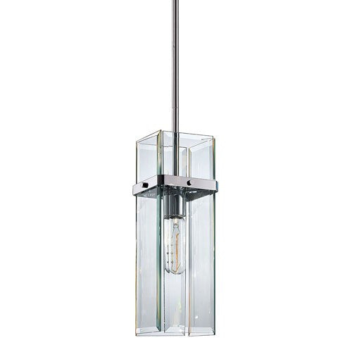 Mercer Street Pendant Light - Polished Chrome