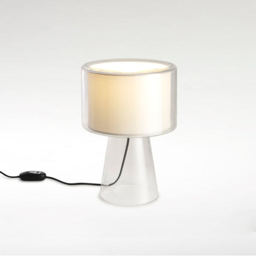 Mercer Table Lamp - Pearl White Finish