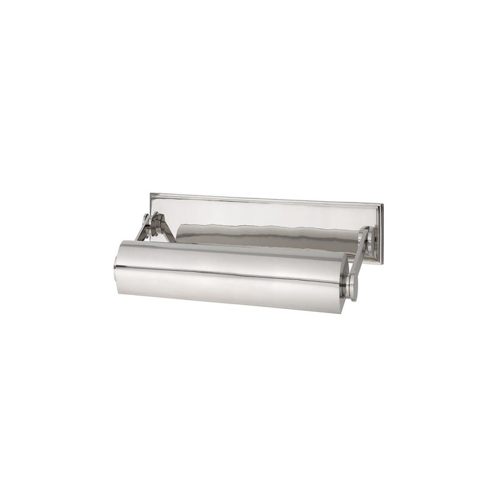 Merrick Small Picture Light - Polished Nickel Finish