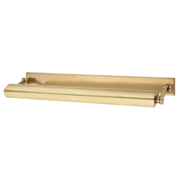 Merrick XL Picture Light - Aged Brass Finish