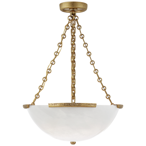 Mezan Medium Chandelier - Hand-Rubbed Antique Brass
