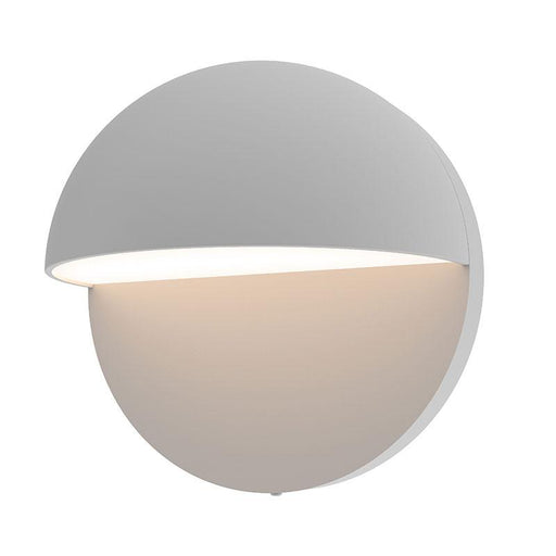 "Mezza Cupola 5"" LED Outdoor Wall Sconce - Textured Gray Finish"