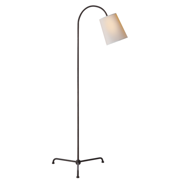 Mia Floor Lamp - Aged Iron