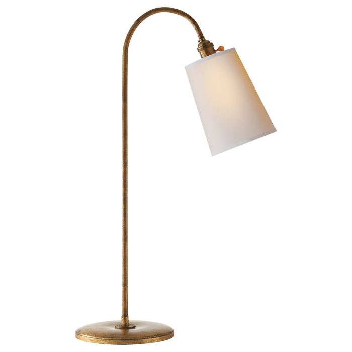 Mia Table Lamp - Gilded Iron