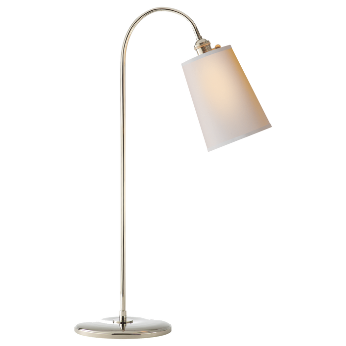 Mia Table Lamp - Polished Nickel
