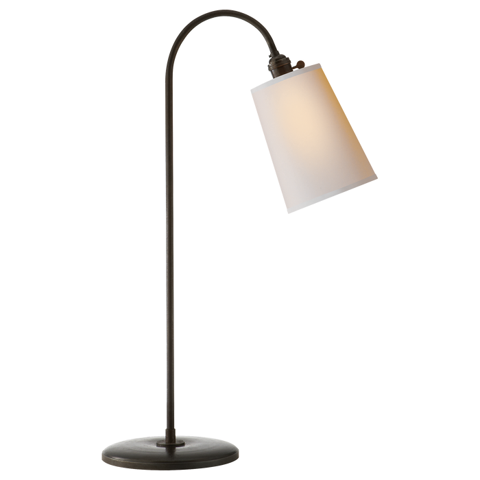 Mia Table Lamp - Aged Iron