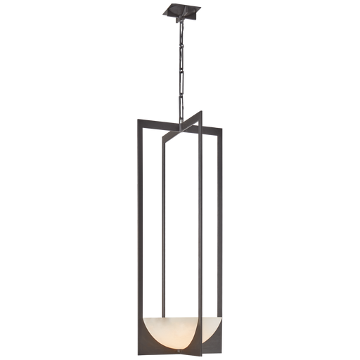 Michaela Small Elongated Chandelier - Bronze Finish