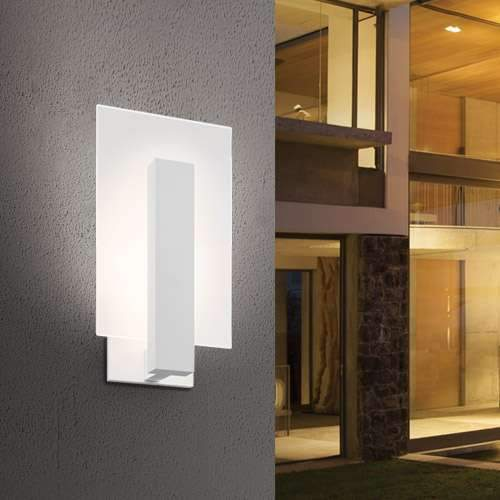 Midtown Short Outdoor LED Wall Sconce - Display