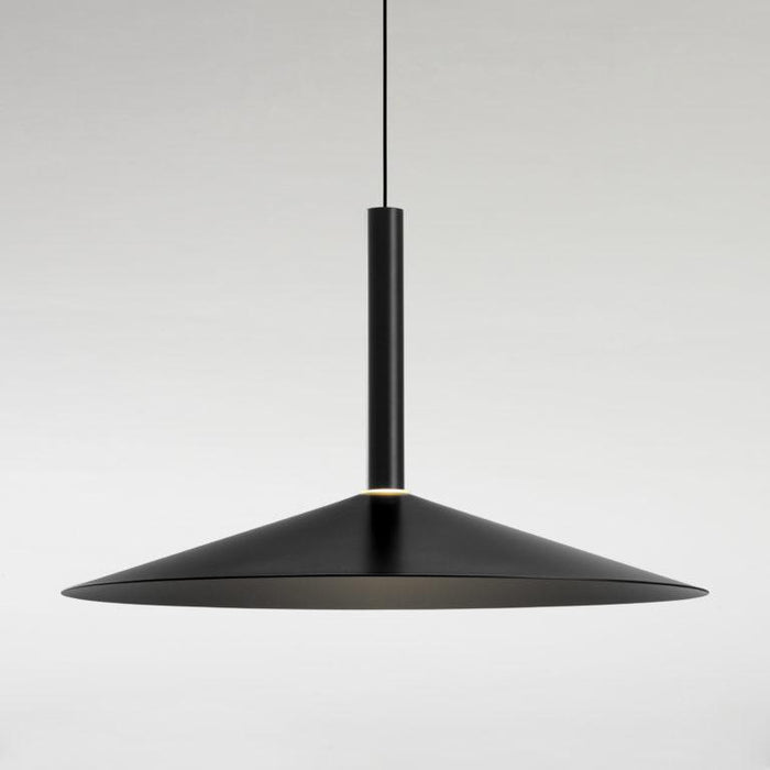 Milana Large Counterweight Pendant - Black Finish