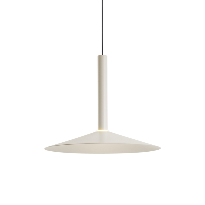 Milana Small Counterweight Pendant - Off White Finish