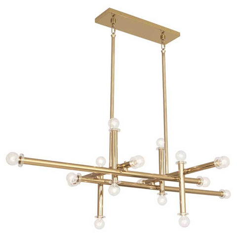 Milano Linear Suspension - Polished Brass