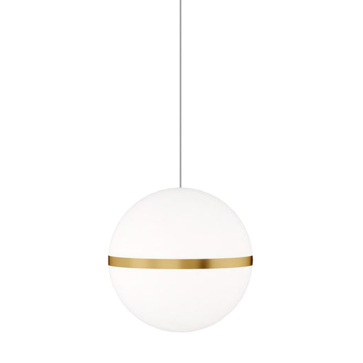 Mini Hanea Pendant  - Natural Brass Finish
