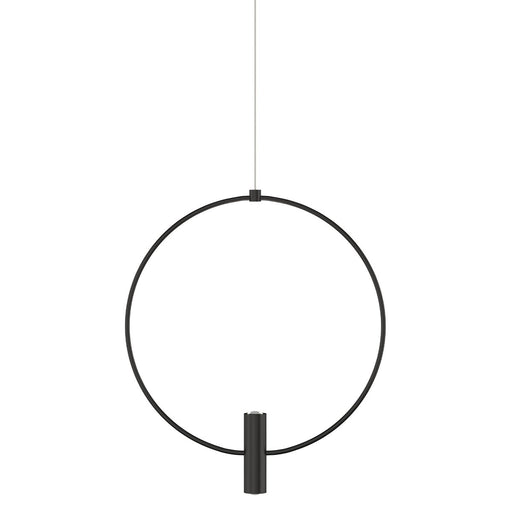 "Mini 13"" Layla Pendant - Nightshade Black Finish"