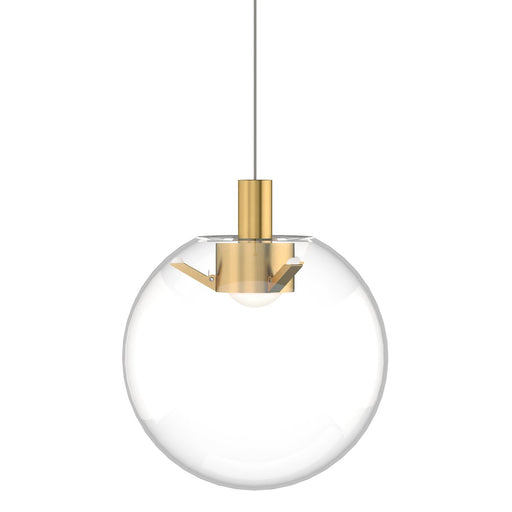 Mini Palona Pendant - Natural Brass Finish