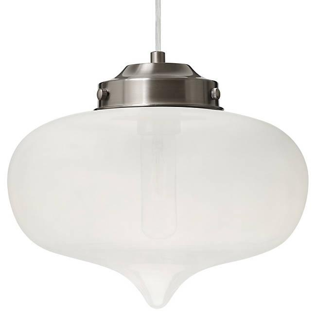 Mira Mini Pendant - Satin Nickel