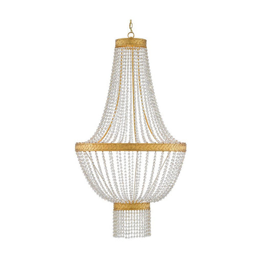 Mirador Chandelier - Gold Leaf Finish
