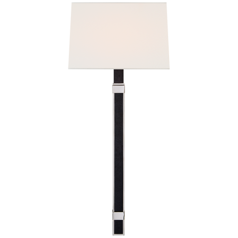 Mitchell Tail Sconce - Polished Nickel