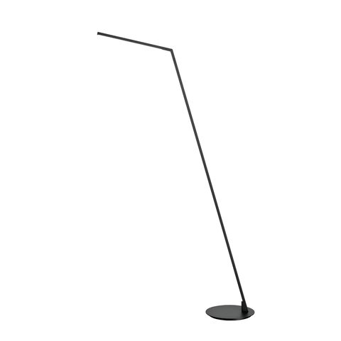 Miter LED Floor Lamp - Black Finish