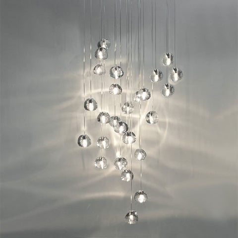 Mizu 26 Light Pendant - Square Canopy