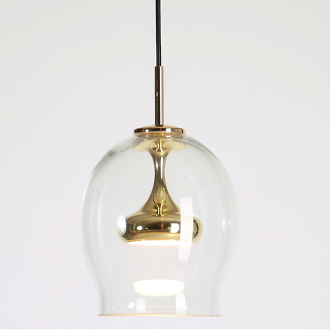 Moai Brass Pendant Light 6.4""