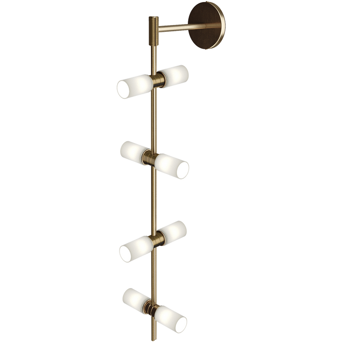 Modern Rail Wall Sconce Cylinders