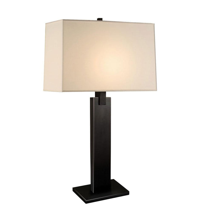 Monolith Table Lamp - Black Brass