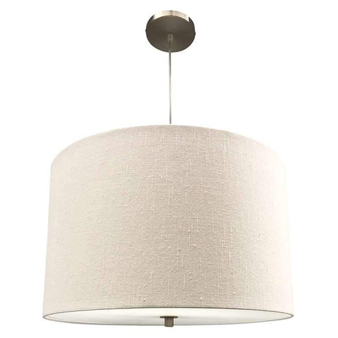 Monterey Drum Pendant Light (White)