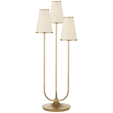 Montreuil Triple Table Lamp Gild