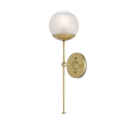 Montview Wall Sconce - Brushed Brass Finish