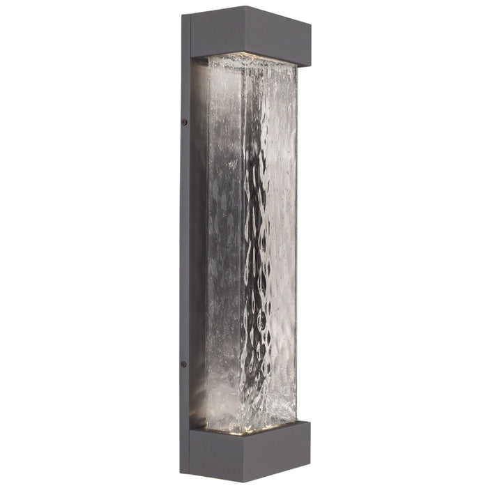 Moondew Large LED Outdoor Wall Sconce - Graphite Finish