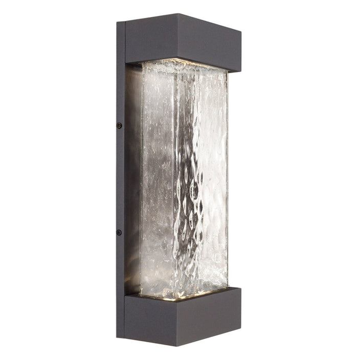 Moondew Medium LED Outdoor Wall Sconce - Graphite Finish