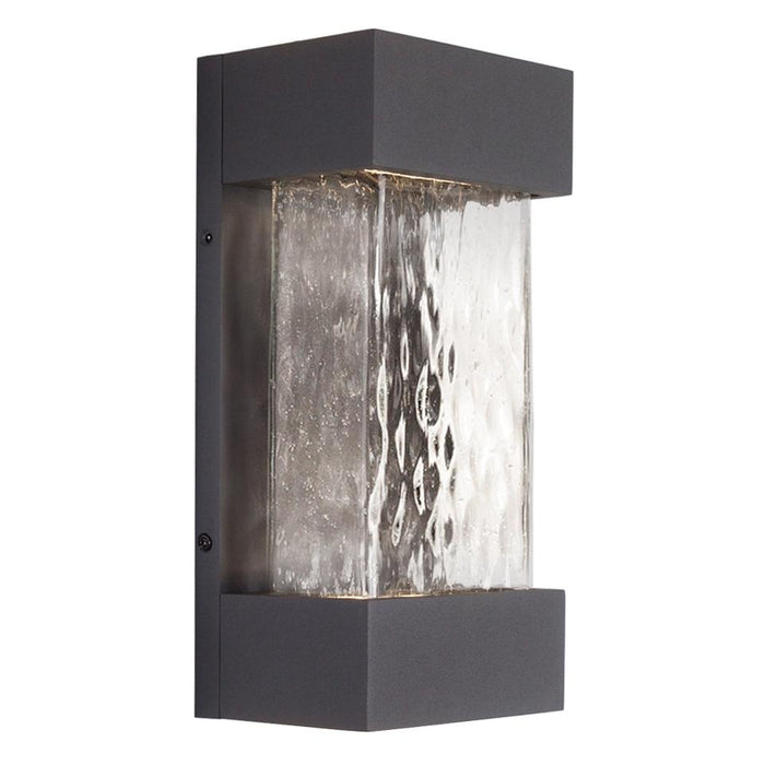Moondew Small LED Outdoor Wall Sconce - Graphite Finish