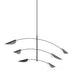 Movile Pendant - Satin Black Finish