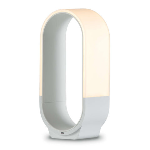 Mr. GO! Portable Table Lamp - White Finish