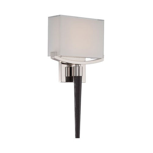 "Muse 18"" Wall Light - Polished Nickel"