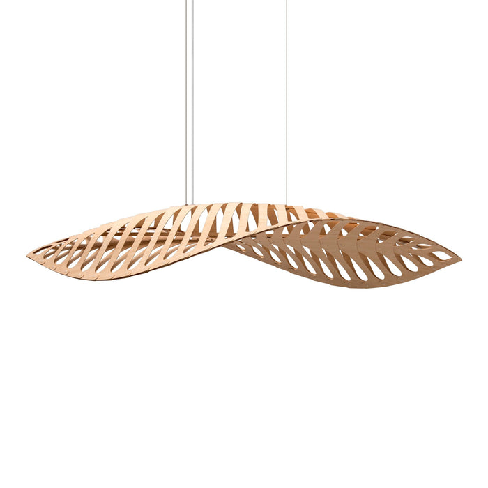 Navicula Pendant - Natural/Natural Finish