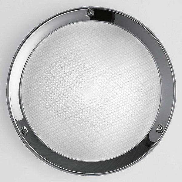 Niki Outdoor LED Wall/Ceiling Light - Polished Aluminum