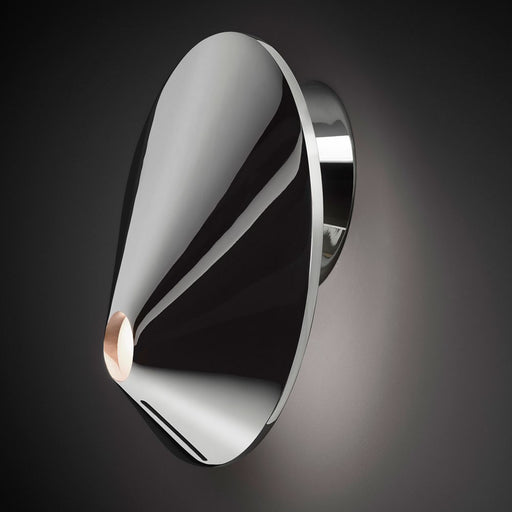 Nón Lá 01 Wall Light - Chrome Finish