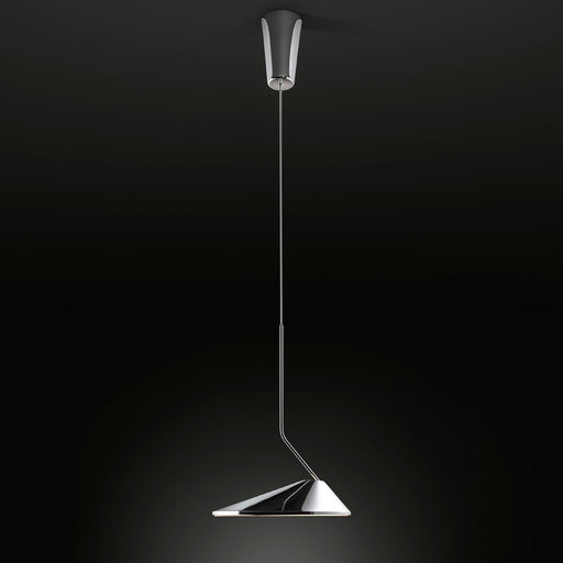 Nón Lá Pendant Light - Chrome
