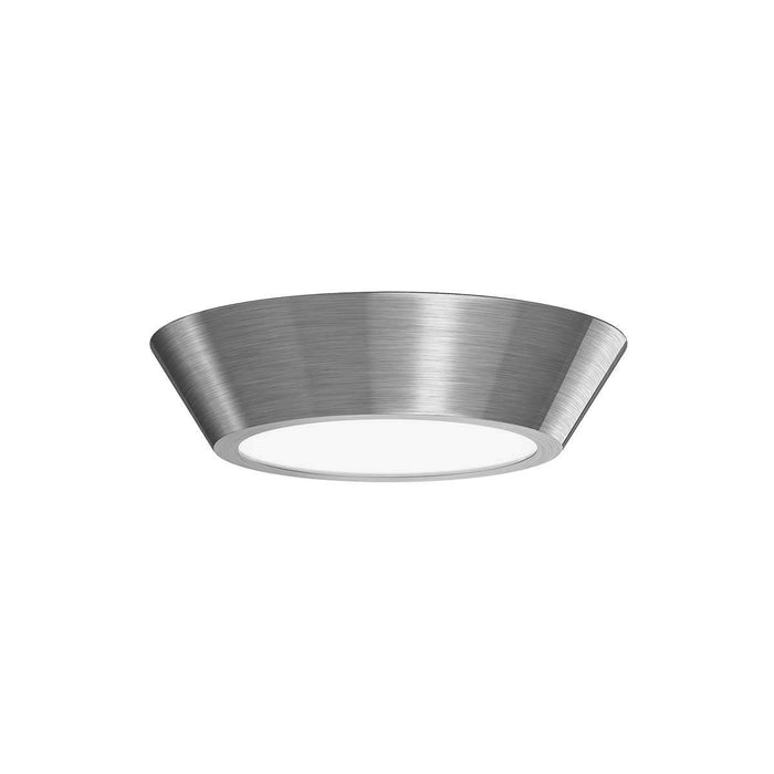 "Oculus 10"" LED Surface Mount Ceiling Light - Satin Nickel"