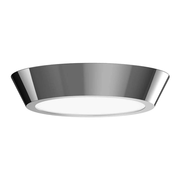 "Oculus 13"" LED Surface Mount Ceiling Light - Polished Nickel"