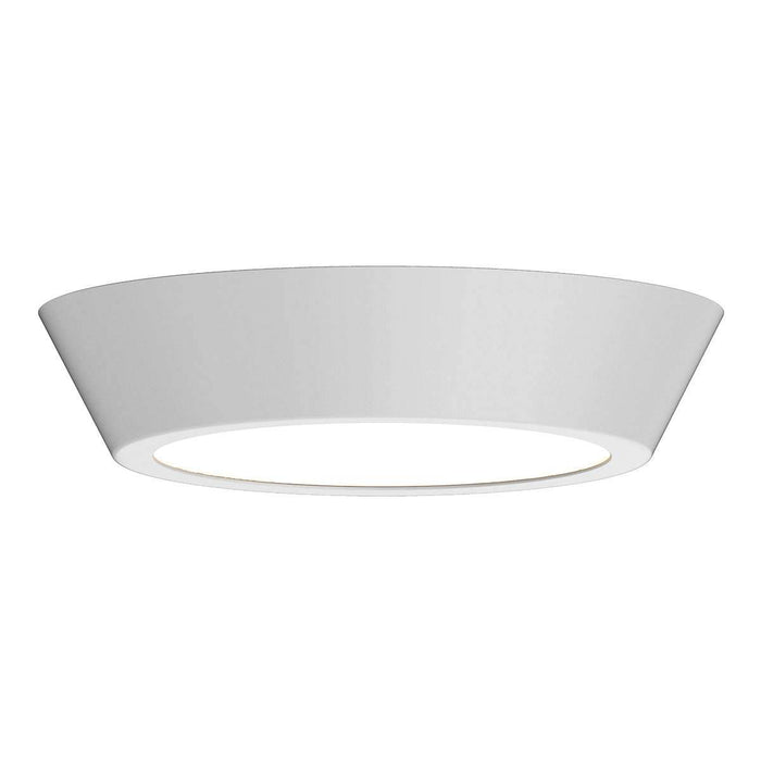 "Oculus 13"" LED Surface Mount Ceiling Light - White"