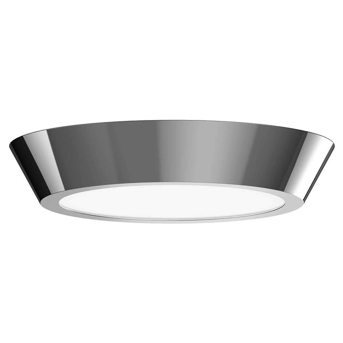 "Oculus 16"" LED Surface Mount Ceiling Light - Polished Nickel"