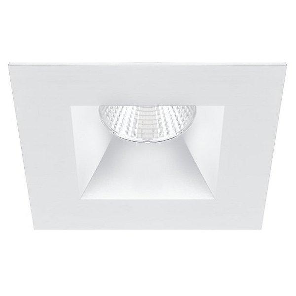 "Oculux 3.5"" LED Dead Front Open Reflector Warm Dim Trim - White Finish"