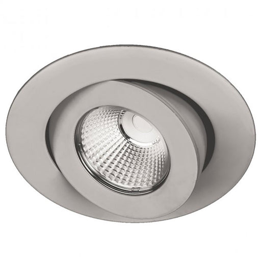 "Oculux 3.5"" LED Round Adjustable Trim - Brushed Nickel Finish"