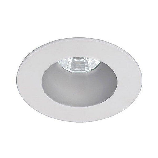"Oculux 3.5"" LED Round Open Reflector Trim - Haze/White Finish"