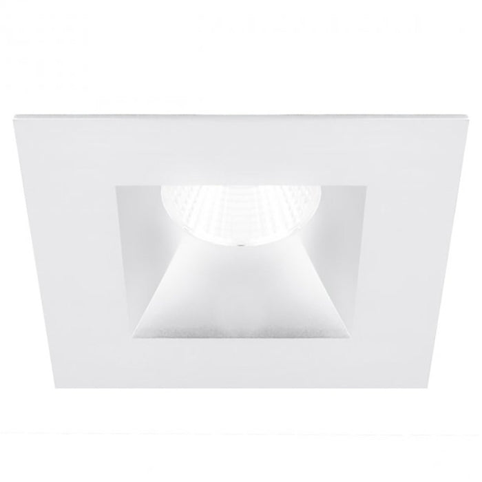 "Oculux 3.5"" LED Square Open Reflector Trim - White Finish"