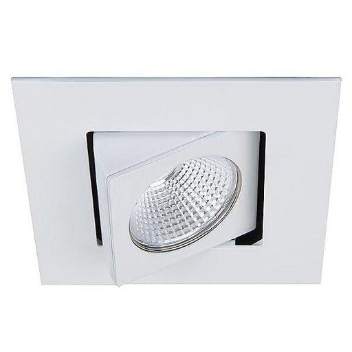 "Oculux 3.5"" LED Square Open Reflector Warm Dim Trim - White Finish"